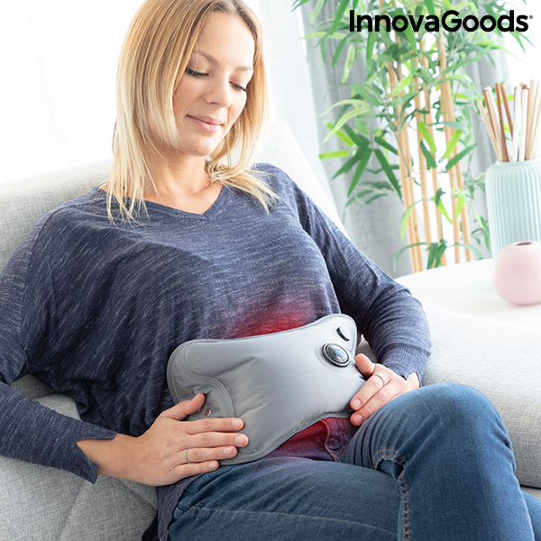 Adjustable refillable hot water bottle Hutter InnovaGoods 400W Grey