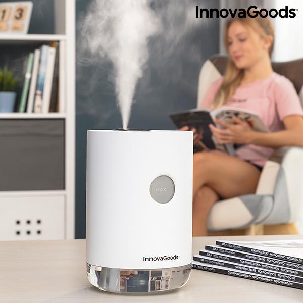 Ultrazvočni vlažilec s polnilno baterijo Vaupure InnovaGoods