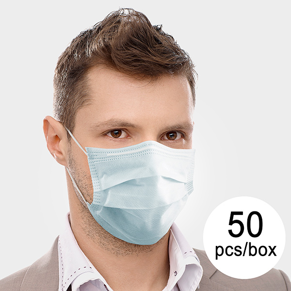3 Layer Disposable Surgical Mask IIR JDM-001 DeerRiver Luxi (Pack of 50)