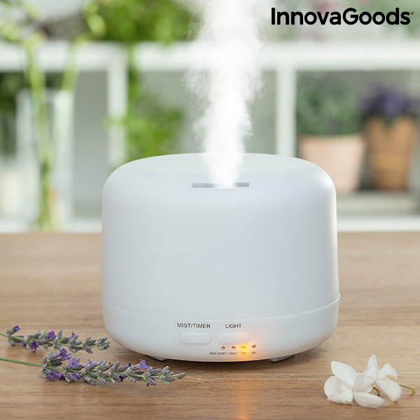 Aroma Diffuser Humidifier with Multicolour LED Steloured InnovaGoods