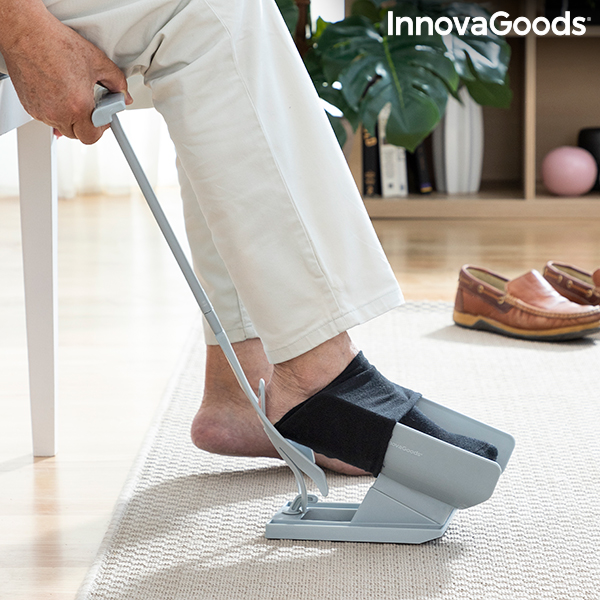 Sock Aid and Shoe Horn with Sock Remover Shoeasy InnovaGoods