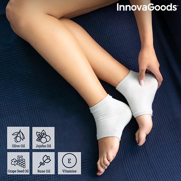 Moisturising Socks with Gel Cushioning and Natural Oils Relocks InnovaGoods