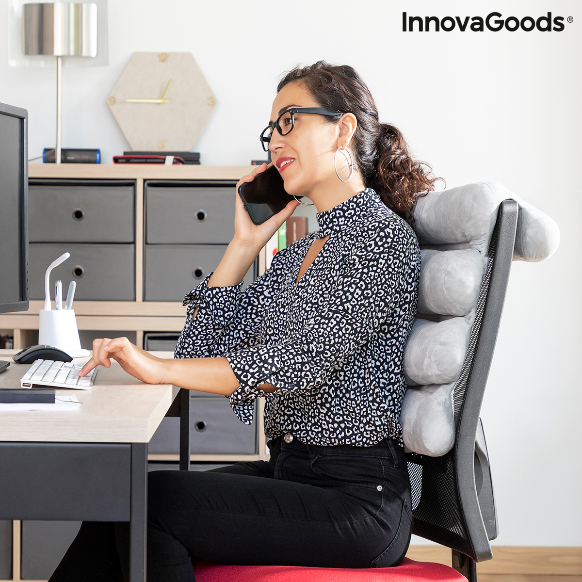 Multifunctional Modular Pillow Rollow InnovaGoods