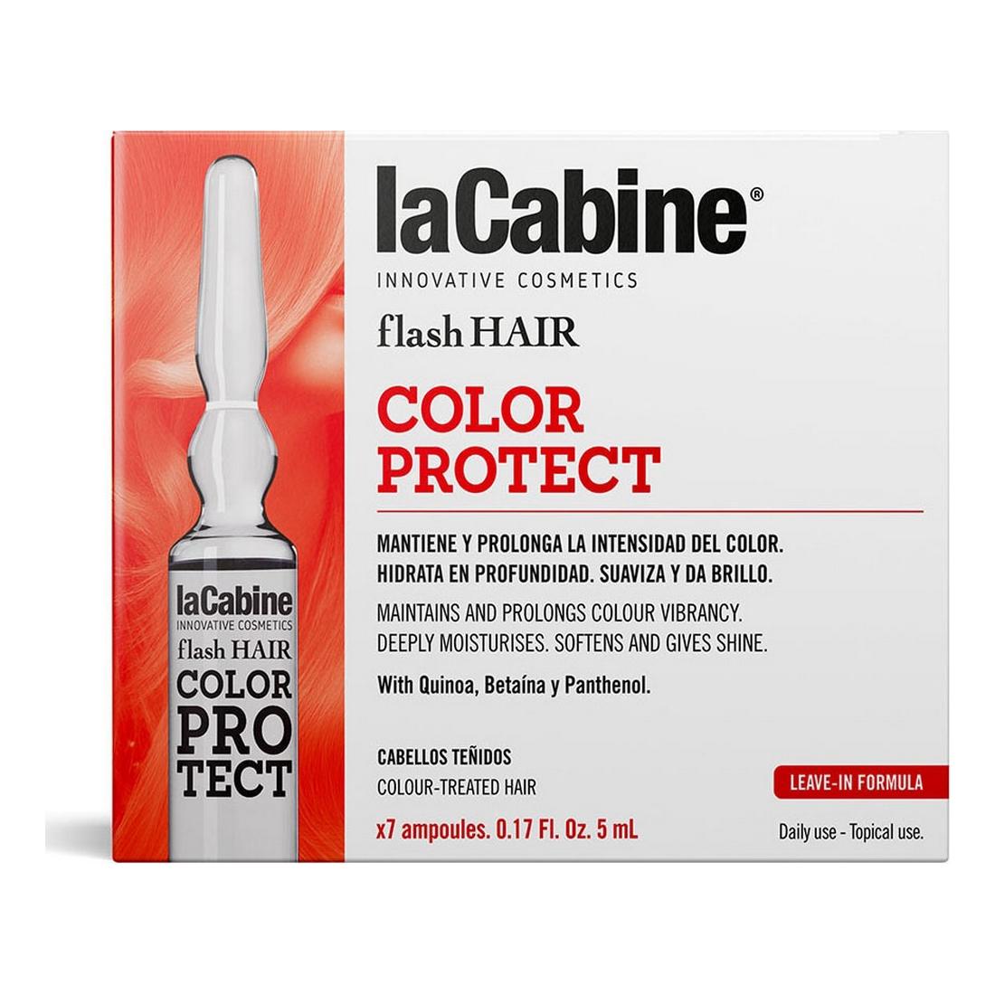 Ampoules laCabine Flash Hair Colour Protector (7 pcs)