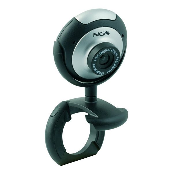 Webcam NGS XPRESSCAM300 USB 2.0 Black