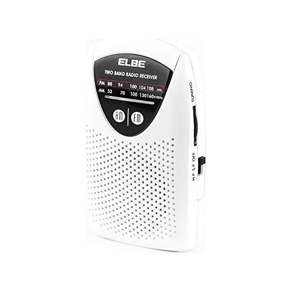 Transistor Radio ELBE RF-50 AM/FM White