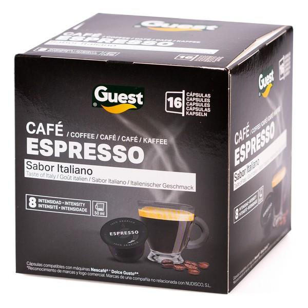 Coffee Capsules Espresso Guest (16 uds)