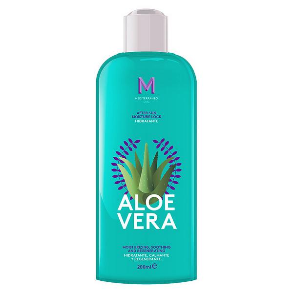 Moisturising Lotion After Sun Aloe Vera Mediterraneo Sun (200 ml)