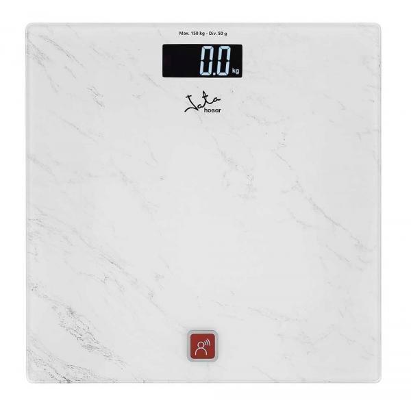 Govoreča Digitalna Osebna Tehtnica JATA 517 150 kg Bela