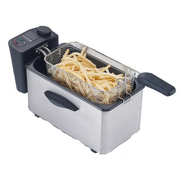 Deep-fat Fryer COMELEC FR-3070/3071 3 L 2000W Inox