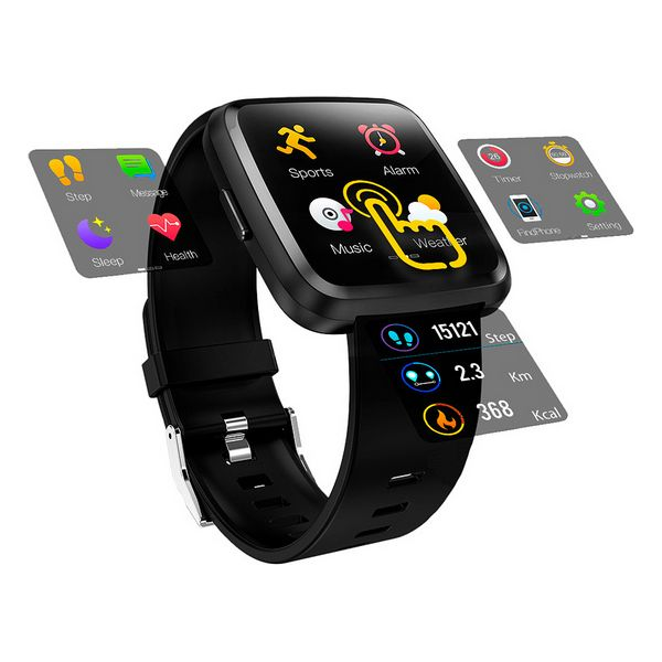 Smartwatch Innova SW-C8 Negro