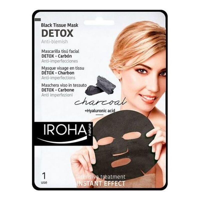 Limpiador Facial Detox Charcoal Black Iroha