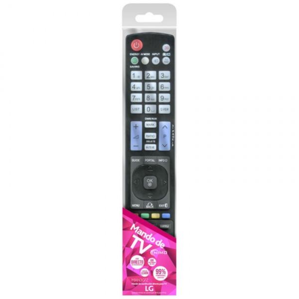 LG Universal Remote Control NIMO MAN3072 Black