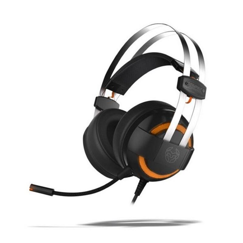 Gaming Headset with Microphone KROM Kode 7.1 Virtual NXKROMKDE