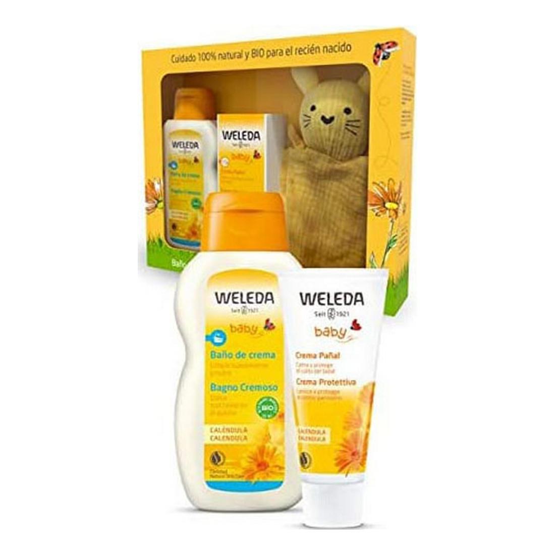 Set Bath for Babies Weleda (3 pcs)