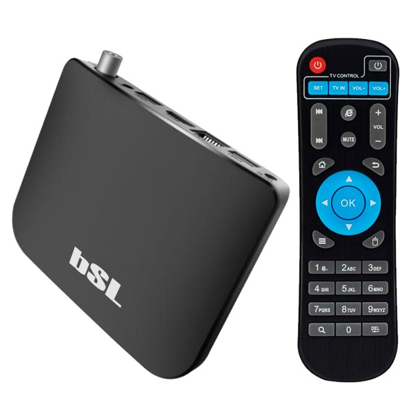 Reproductor TV Android BSL ABSL-216DVBTS 8 GB WiFi Negro