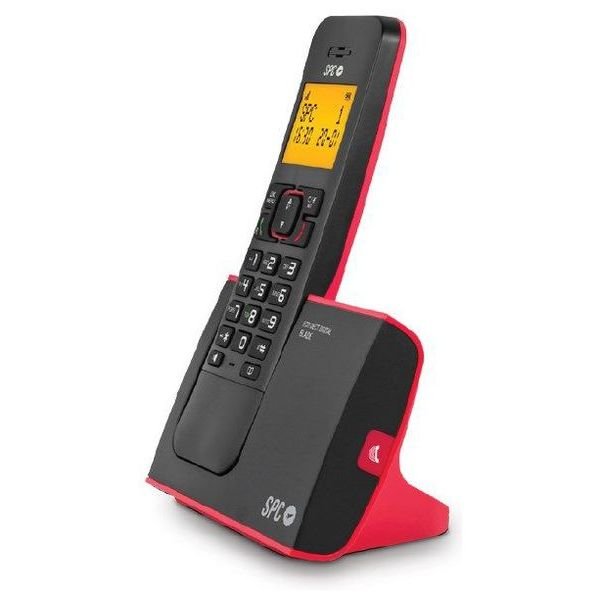 Teléfono Inalámbrico DECT SPC 7290R Negro