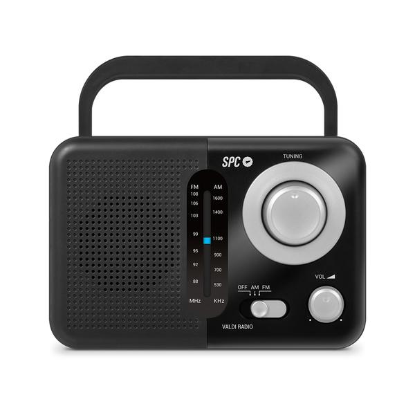 Rádio SPC 4590N AM/FM 0,8W NEGRO