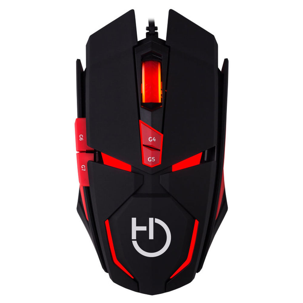 Gaming Mouse Hiditec MICRURUS 8100 dpi Red