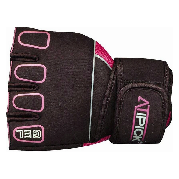Training Gloves Atipick GTH1010 Black Pink (Size l)