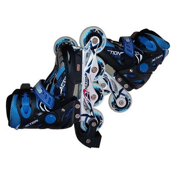 Inline Skates Atipick Speeding Children's Black Blue