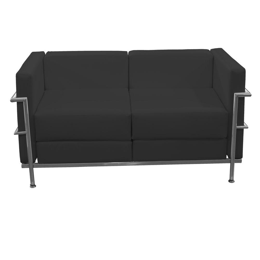 2-Seater Sofa Tarazona P&C 72PSPNE Black