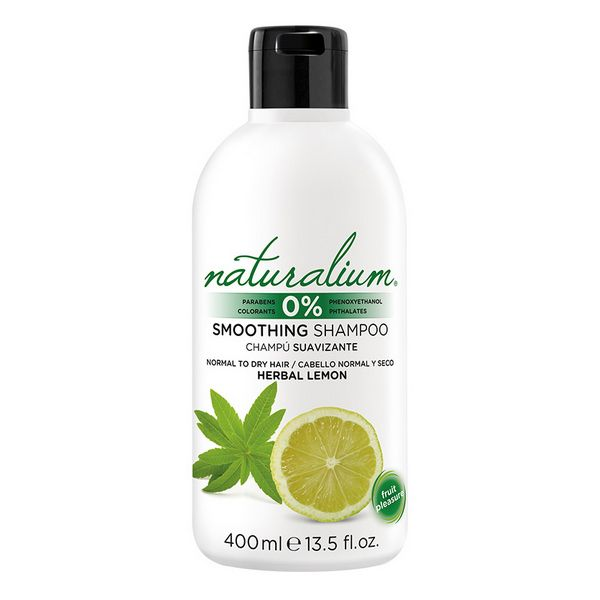 Šampon za mehke lase Herbal Lemon Naturalium (400 ml)