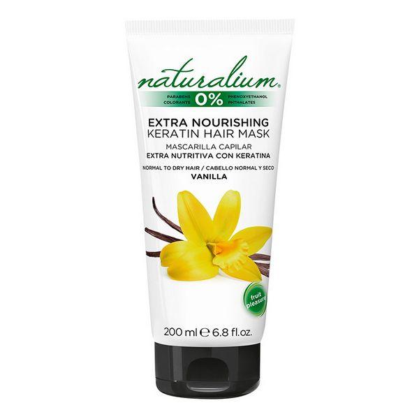 Hranljiva maska za lase Naturalium (200 ml)