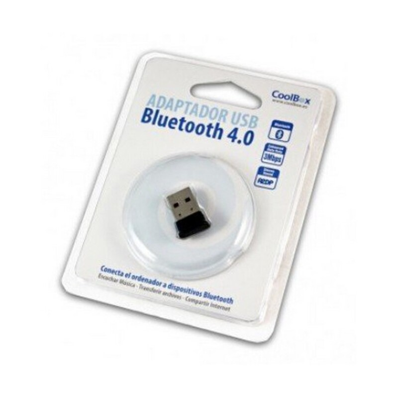 Mini Receptor Bluetooth CoolBox COO-BLU4M-15 15 m Negro