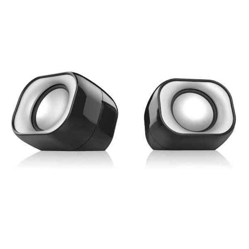 PC Speakers Nilox NXAPC01 2W Black