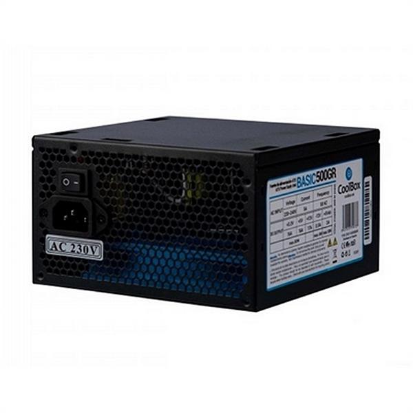 Fuente de Alimentación CoolBox CoolBox Basic ATX 300W Negro