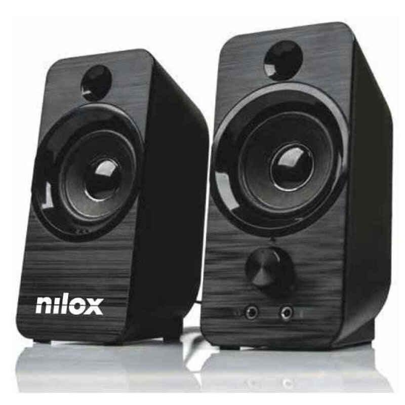 PC Speakers Nilox NXAPC02 6W Black
