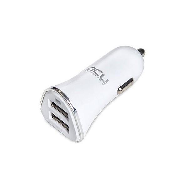 Car Charger DCU 2 X USB-A White
