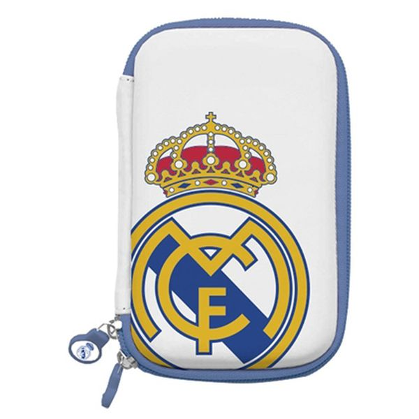 Funda Disco Duro Real Madrid C.F. RMDDP001 3,5""