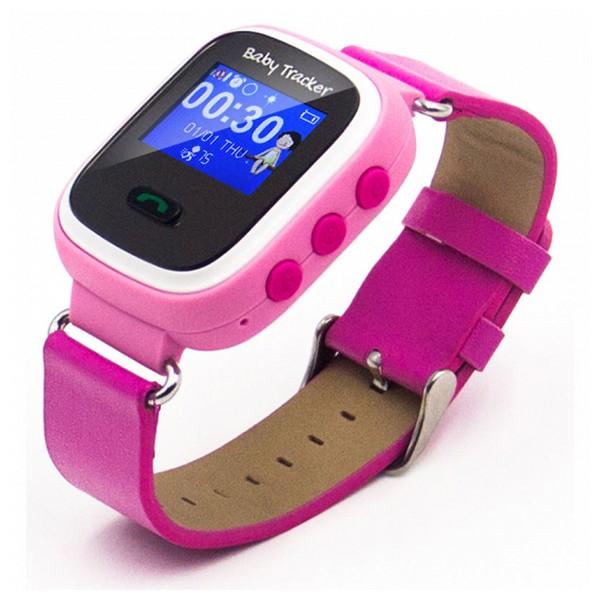 Smartwatch para Niños Overnis 221915 GPS GSM Tracking USB 5 V Rosa