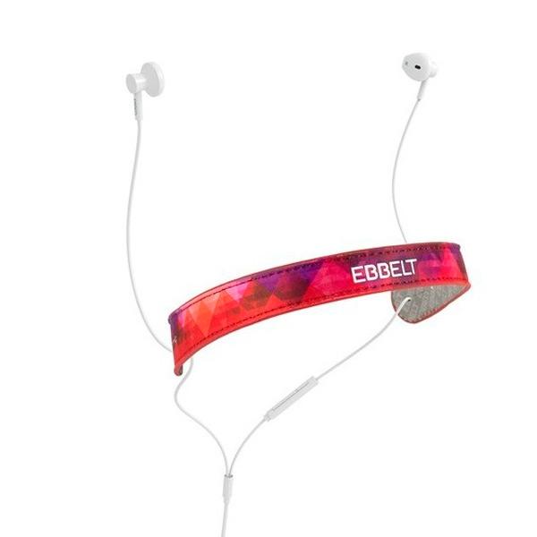 Auriculares de Botón Ebbelt URBAN 31325 Rojo