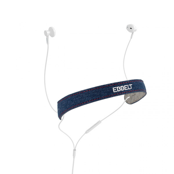 Auriculares de Botón Ebbelt URBAN 31349 Azul