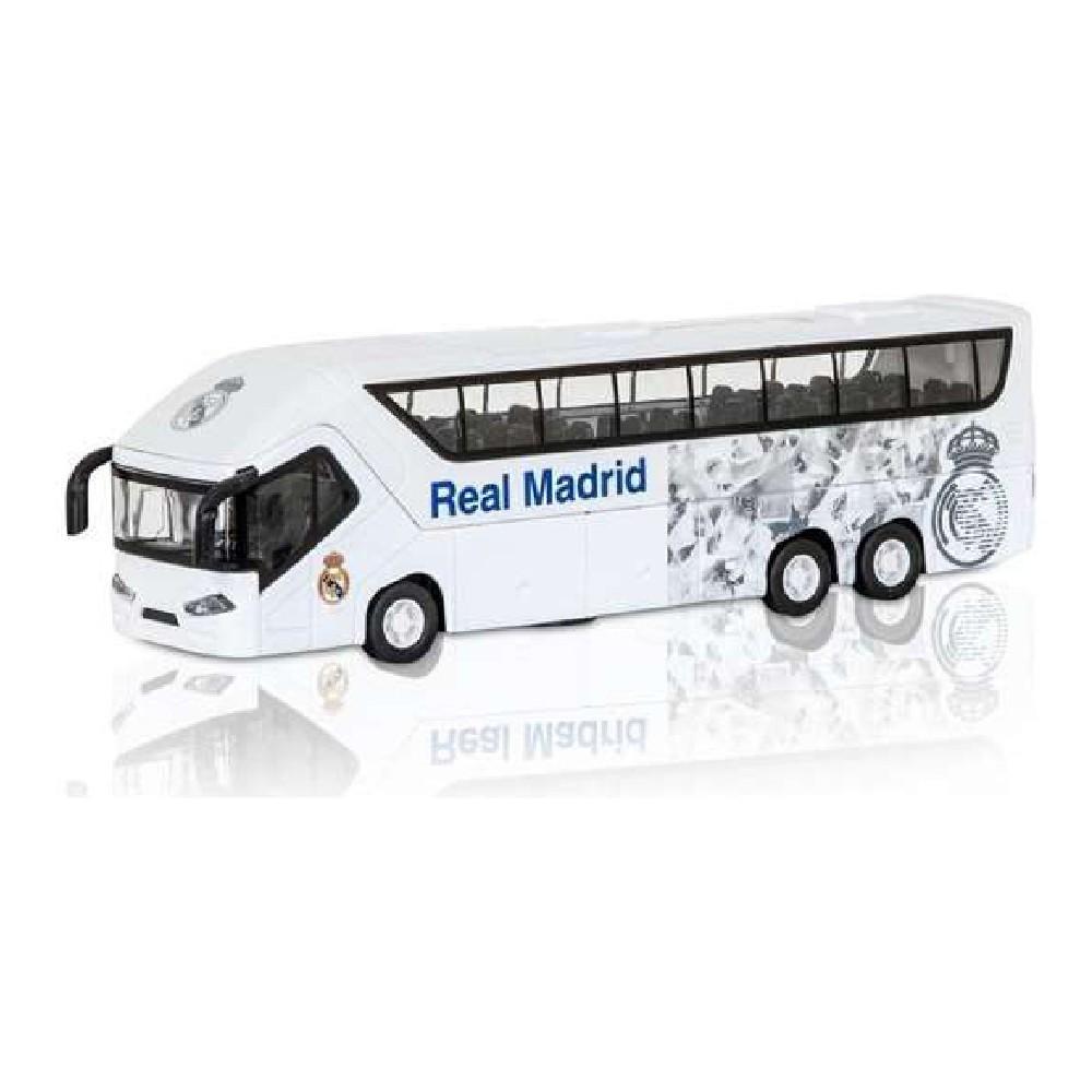 Bus Real Madrid C.F. 1:50 White