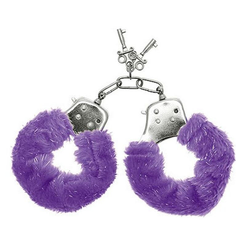 Cuffs S Pleasures Furry Lilac