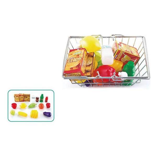 Basket with Fruit Vegetables (24 x 16,5 x 12 cm)
