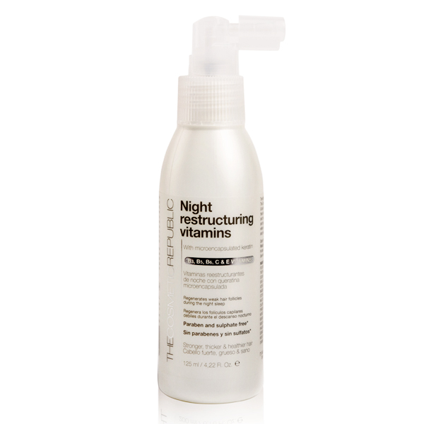 Intenzivni obnovitveni tretma Night Restucturing The Cosmetic Republic (125 ml)