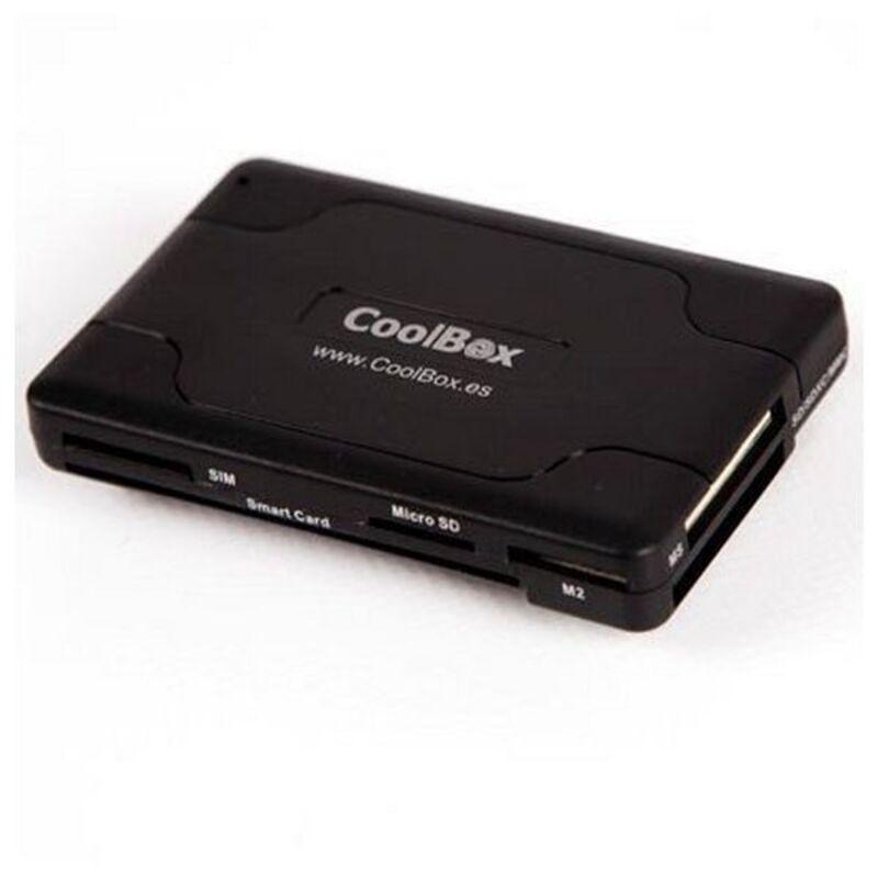 Lector de Tarjetas Inteligentes CoolBox CRE-065 USB 2.0 Negro