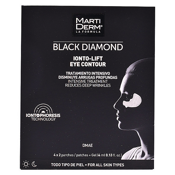 Anti-Wrinkle Patches for the Eye Area Black Diamond Martiderm (4 pcs)