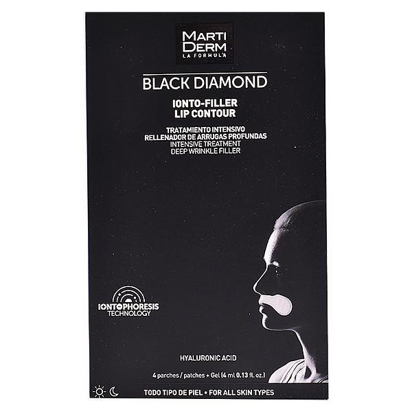 Anti-Ageing Treatment for Lip Area Black Diamond Martiderm (4 pcs)