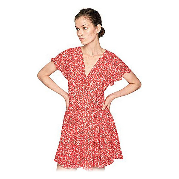 Dress Pepe Jeans PL952644 Lady Red Printed M (Refurbished A+)