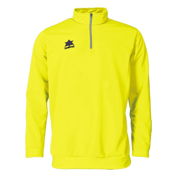 Sweatshirt without Hood Luanvi Pol Yellow