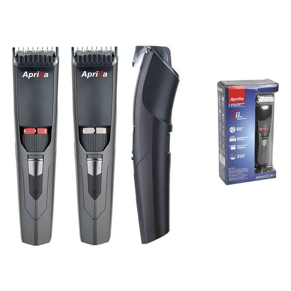 Cordless Hair Clippers Aprilla Black Rechargeable