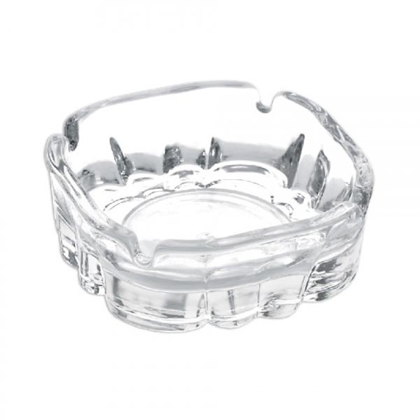 Ashtray LAV Karina Crystal (10 X 10 x 3,4 cm)