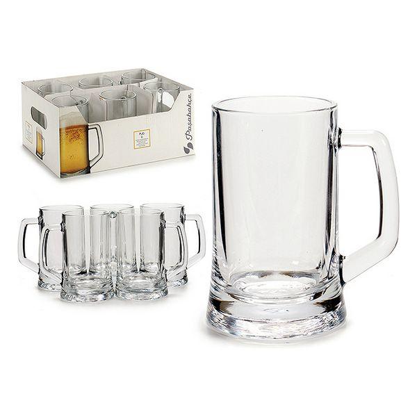 Beer Mug (6 Pieces) (12 x 13,5 x 8,8 cm)