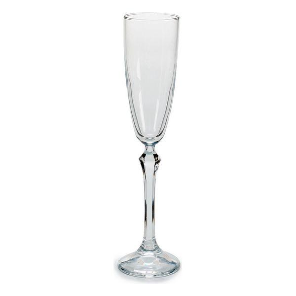 Copa de champán Vidrio 3 (3 Piezas) (6,5 x 25 x 25,5 cm) (2)
